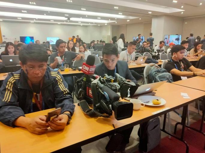 Trung tâm báo chí SEA Games 30 tại Manila hối hả chạy đua cùng thời gian - Ảnh 5.