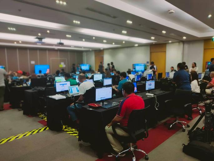Trung tâm báo chí SEA Games 30 tại Manila hối hả chạy đua cùng thời gian - Ảnh 6.