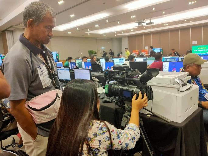 Trung tâm báo chí SEA Games 30 tại Manila hối hả chạy đua cùng thời gian - Ảnh 8.