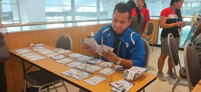 Trung tâm báo chí SEA Games 30 tại Manila hối hả chạy đua cùng thời gian - Ảnh 2.