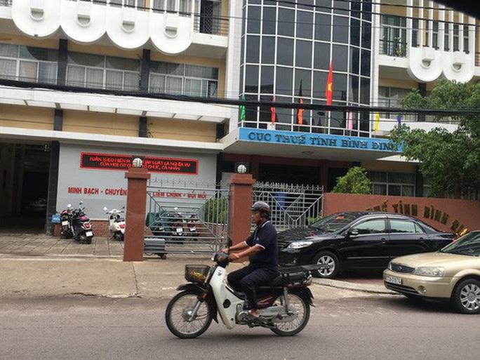 Kỷ luật cảnh cáo Phó Cục trưởng Cục thuế tỉnh Bình Định - Ảnh 1.