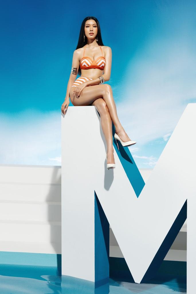 Bỏng mắt với bộ ảnh bikini của thí sinh Hoa hậu Hoàn vũ Việt Nam 2019 - Ảnh 3.