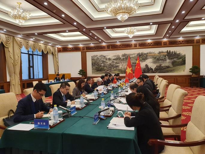 Thứ trưởng Ngoại giao Việt Nam - Trung Quốc trao đổi về biên giới lãnh thổ - Ảnh 1.