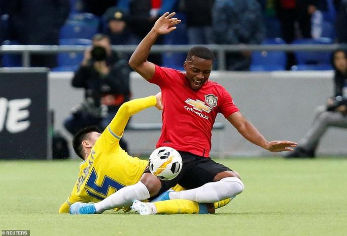 Lingard trở lại, Man United đại bại ở Europa League - Ảnh 3.