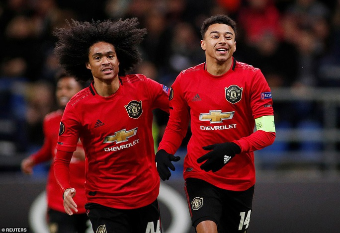 Lingard trở lại, Man United đại bại ở Europa League - Ảnh 2.