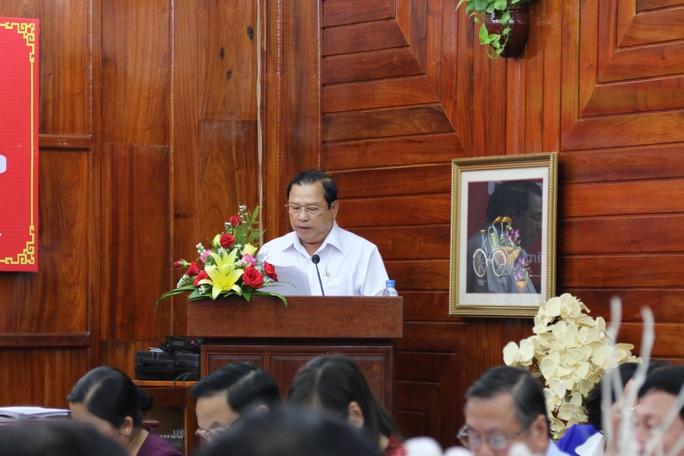 Ông Nguyễn Văn Trăm thôi làm Chủ tịch UBND tỉnh Bình Phước - Ảnh 1.