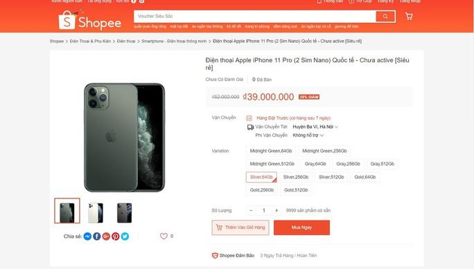 iPhone 11 giảm giá 10 triệu đồng ở VN là trò bịp Black Friday - Ảnh 2.