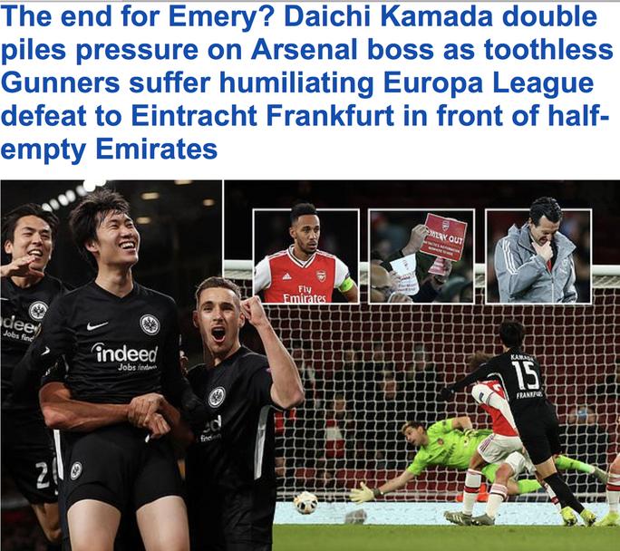 Arsenal thất bại ở Europa League, Unai Emery bị yêu cầu từ chức - Ảnh 6.