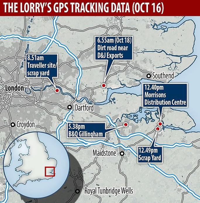 Vụ 39 người chết: Có tính toán lộ trình qua điểm nóng buôn người tại Anh? - Ảnh 1.