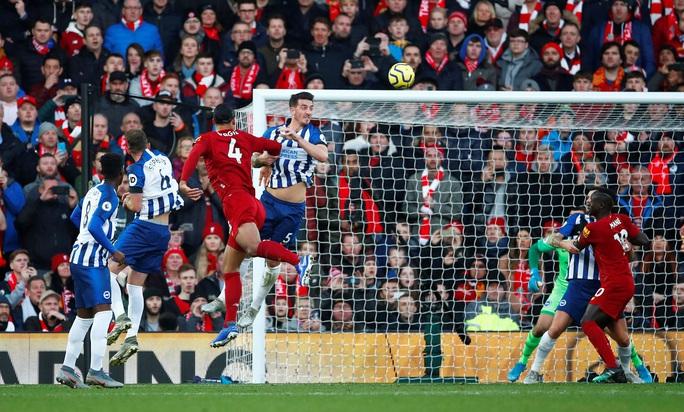 Van Dijk lập cú đúp, Liverpool nối dài kỷ lục không tưởng - Ảnh 2.