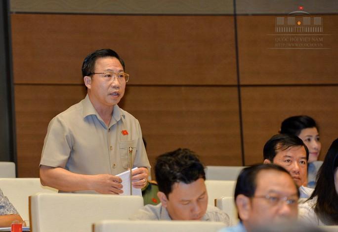 Đại biểu Lưu Bình Nhưỡng tranh luận với Đại biểu Nguyễn Quang Dũng - Ảnh 1.