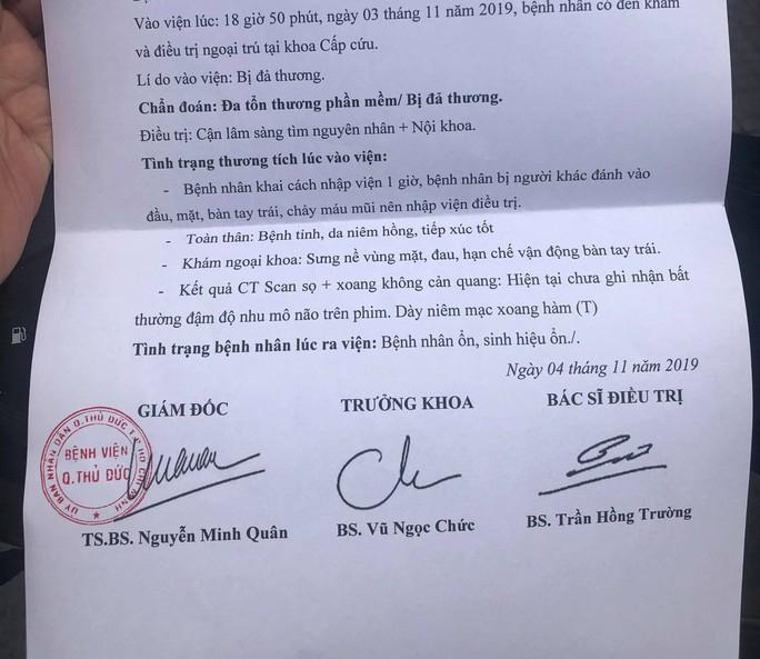 TP HCM: Dừng xe trước nhà mình,1 phóng viên bất ngờ bị hành hung - Ảnh 2.