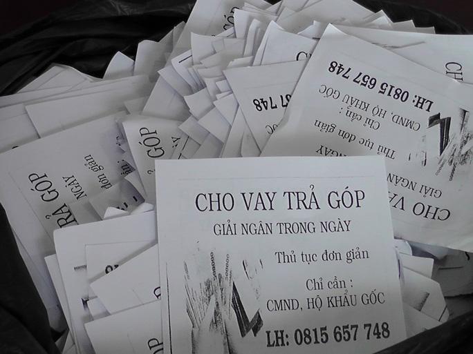 Tóm thêm 2 đối tượng từ Ninh Bình vào Đồng Tháp phát tờ rơi tín dụng đen - Ảnh 1.