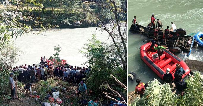 Xe buýt chở hơn 100 người lao xuống sông, thương vong gần hết - Ảnh 2.