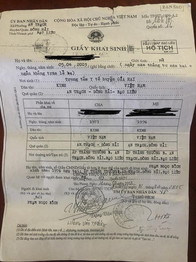 Thêm trường hợp cấp khống giấy khai sinh cho trẻ mang quốc tịch nước ngoài - Ảnh 1.