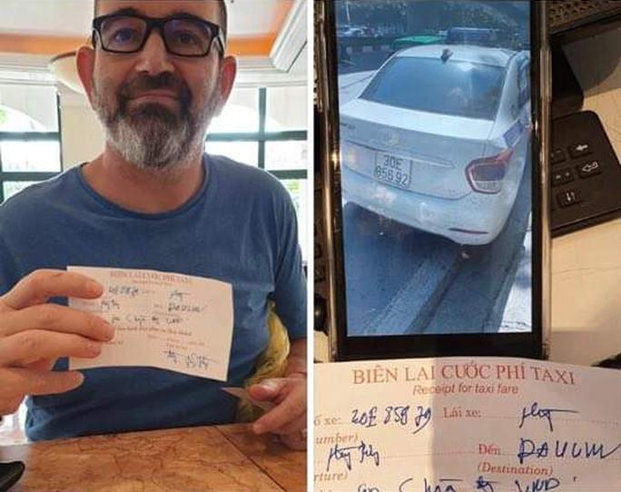 Tài xế taxi chặt chém du khách nước ngoài gần 1 triệu đồng cho quãng đường 5 km - Ảnh 1.
