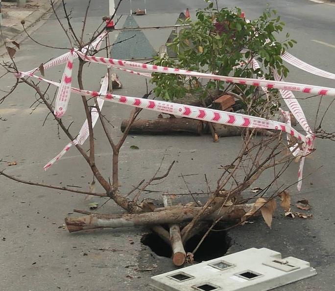 Hố tử thần nguy hiểm chết người xuất hiện trên đường Hồ Chí Minh - Ảnh 2.