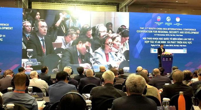 Hơn 300 đại biểu có mặt ở Hà Nội dự hội thảo quốc tế về Biển Đông - Ảnh 1.