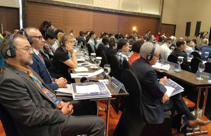 Hơn 300 đại biểu có mặt ở Hà Nội dự hội thảo quốc tế về Biển Đông - Ảnh 2.