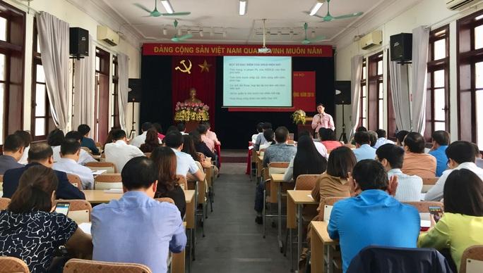 Hà Nội: Bồi dưỡng kiến thức pháp luật lao động cho cán bộ Công đoàn - Ảnh 1.