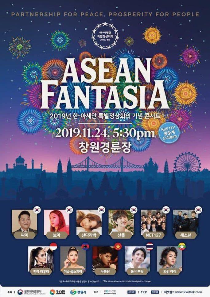 Noo Phước Thịnh sẽ biểu diễn trước nguyên thủ nhiều nước tại Hàn Quốc - Ảnh 1.