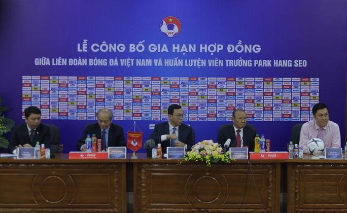 HLV Park Hang-seo bộc bạch mục tiêu, tâm huyết sau khi ký gia hạn hợp đồng - Ảnh 1.