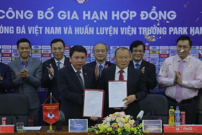 HLV Park Hang-seo bộc bạch mục tiêu, tâm huyết sau khi ký gia hạn hợp đồng - Ảnh 7.
