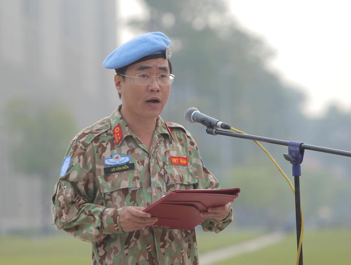 Báo công dâng Bác của Bệnh viện dã chiến trước khi lên đường gìn giữ hòa bình LHQ - Ảnh 13.