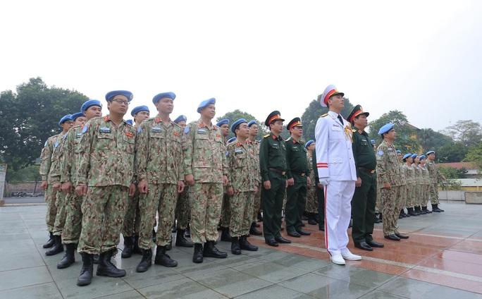 Báo công dâng Bác của Bệnh viện dã chiến trước khi lên đường gìn giữ hòa bình LHQ - Ảnh 4.