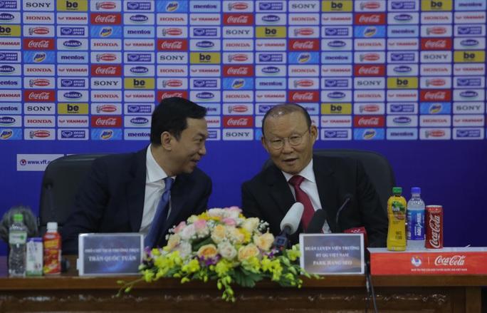HLV Park Hang-seo bộc bạch mục tiêu, tâm huyết sau khi ký gia hạn hợp đồng - Ảnh 3.