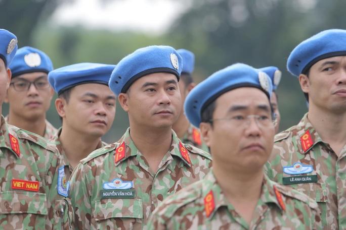 Báo công dâng Bác của Bệnh viện dã chiến trước khi lên đường gìn giữ hòa bình LHQ - Ảnh 5.