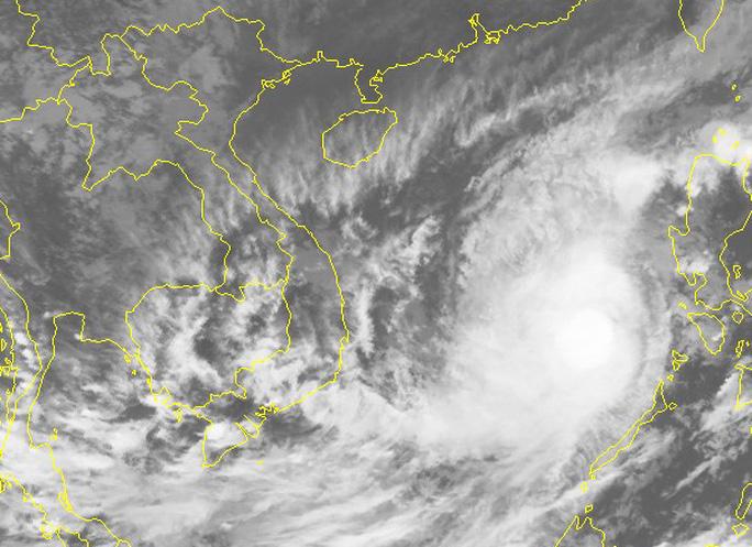 Sau khi đứng im, bão số 6 khả năng đổi hướng, giật cấp 14-15 lao vào Nam Trung bộ - Ảnh 2.