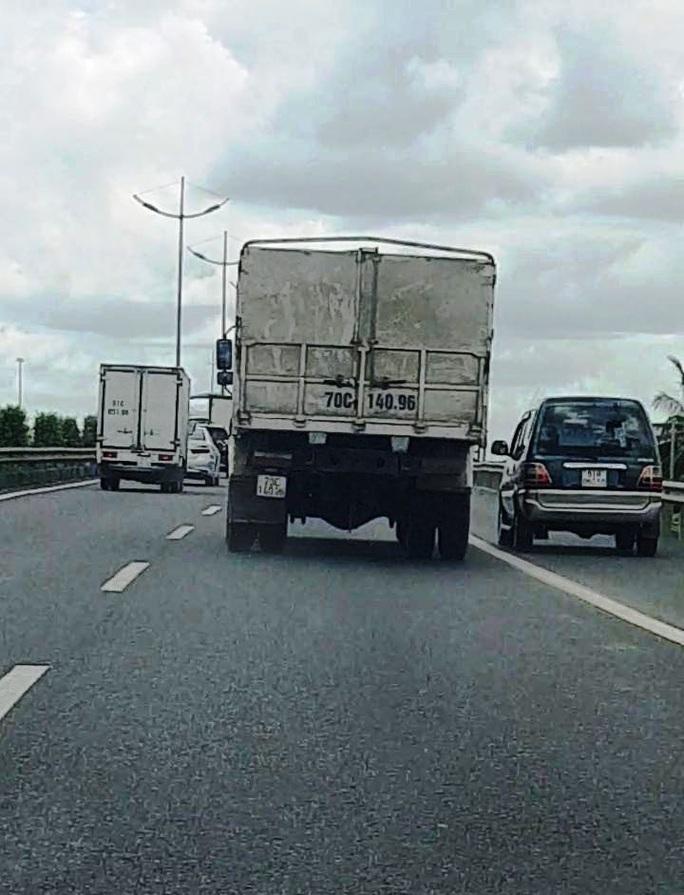 Cao điểm tổng kiểm soát xe trên cao tốc - Ảnh 1.