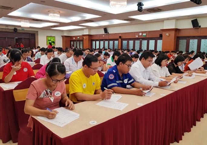 165 thí sinh dự hội thi phòng chống đái tháo đường - Ảnh 1.