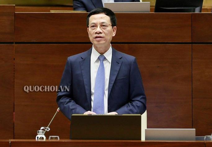 Bộ trưởng Nguyễn Mạnh Hùng: Hãy nhấn dislike để thể hiện thái độ với tin xấu, độc trên mạng xã hội - Ảnh 1.