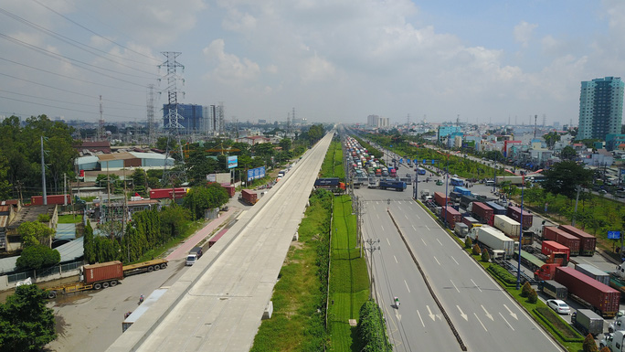 Thông xe nút giao Đại học Quốc gia TP HCM, cửa ngõ phía Đông rộng mở - Ảnh 5.