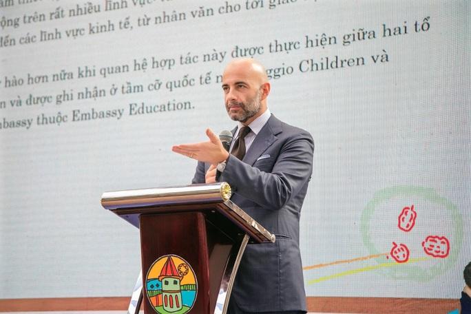 Chính thức đưa phương pháp giáo dục nổi tiếng của Ý vào Việt Nam - Ảnh 2.