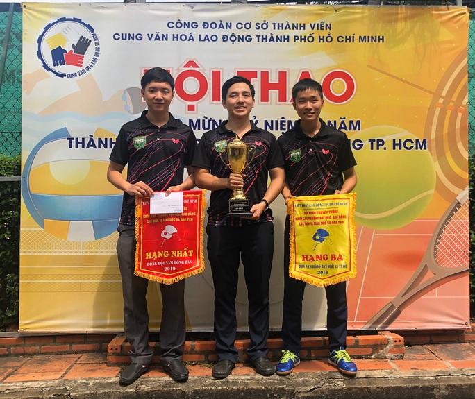 Trường ĐH Y khoa Phạm Ngọc Thạch đạt nhiều thành tích cao tại Hội thao  - Ảnh 1.