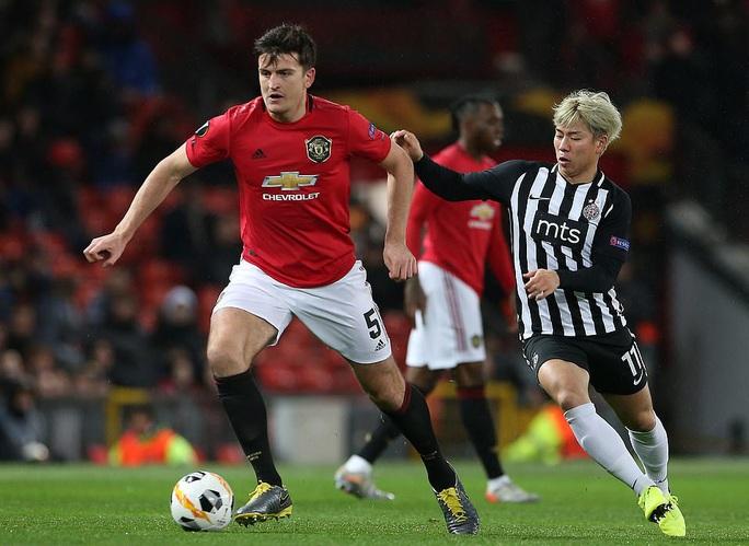 Tam phong M-A-M lập công, Man United đại thắng Europa League - Ảnh 1.