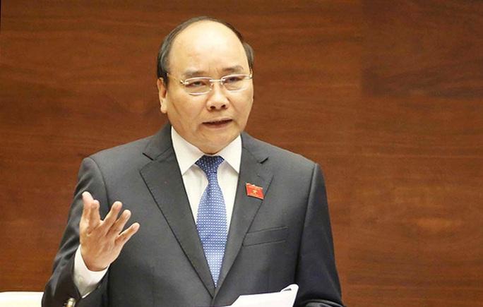 Thủ tướng Nguyễn Xuân Phúc trả lời chất vấn trực tiếp trước Quốc hội - Ảnh 1.