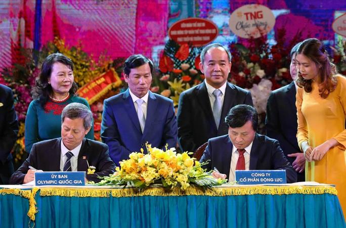 U22 Việt Nam và đoàn thể thao Việt Nam nhận quà đặc biệt trước ngày dự SEA Games 2019 - Ảnh 1.