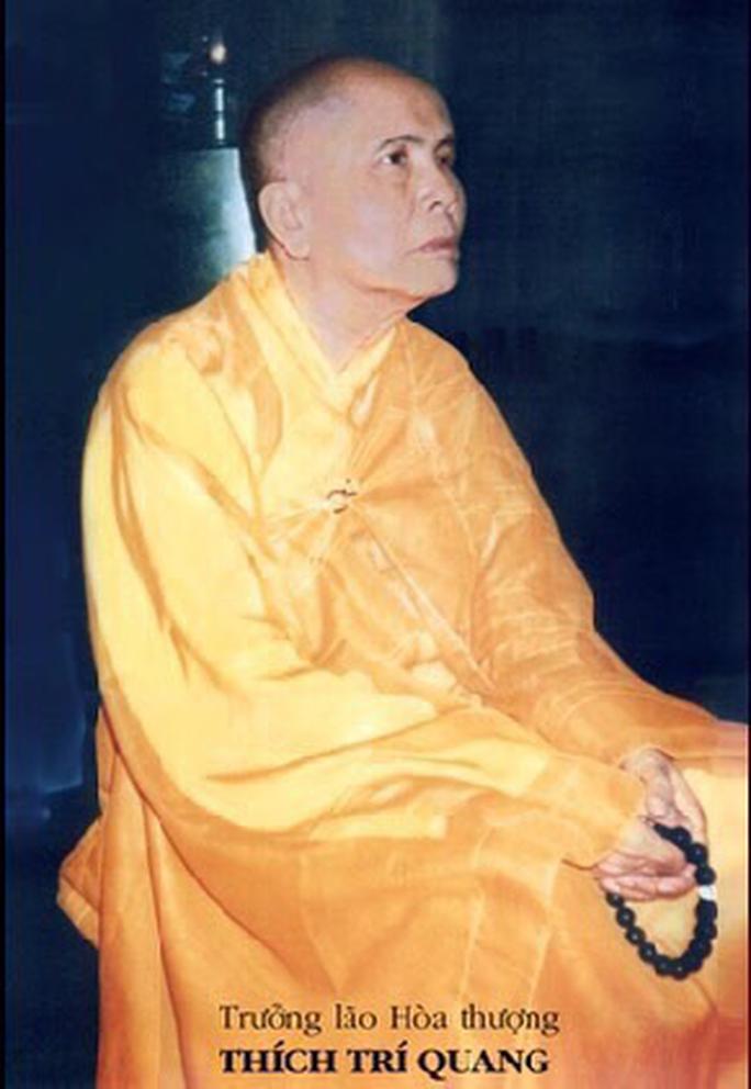 Đại lão Hòa thượng Thích Trí Quang viên tịch - Ảnh 1.