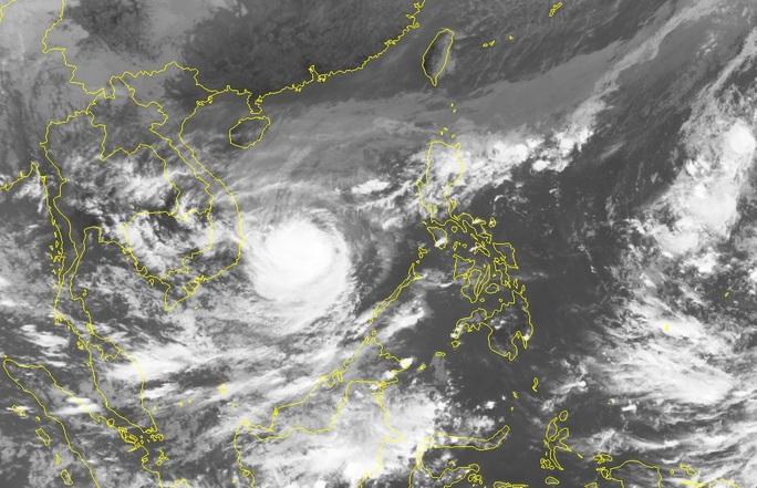 Bão số 6 giật cấp 14, đêm mai áp sát vùng biển từ Quảng Ngãi-Khánh Hòa - Ảnh 2.