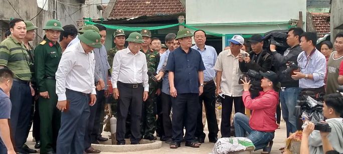 Bình Định là trung tâm bão số 6 nên không được chủ quan - Ảnh 4.