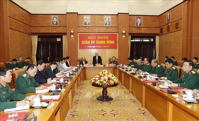 Tổng Bí thư, Chủ tịch nước chủ trì Hội nghị của Quân ủy Trung ương - Ảnh 3.