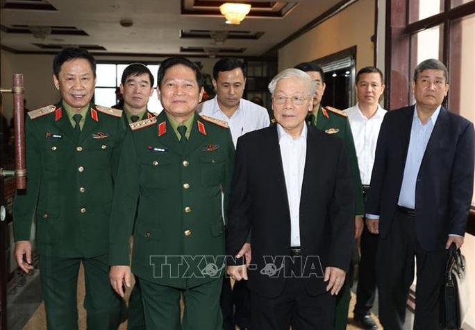 Tổng Bí thư, Chủ tịch nước chủ trì Hội nghị của Quân ủy Trung ương - Ảnh 1.