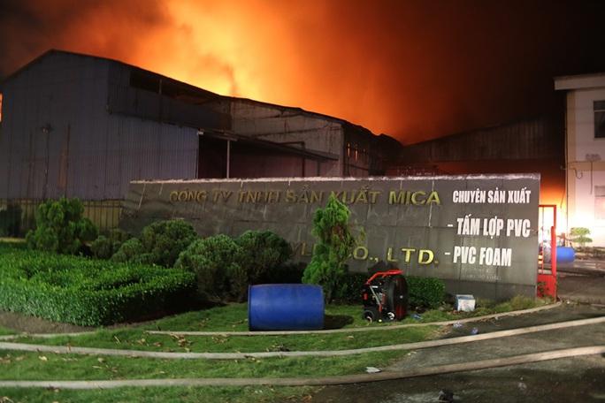 Đồng Nai: Cháy dữ dội tại KCN Biên Hoà 2 - Ảnh 3.