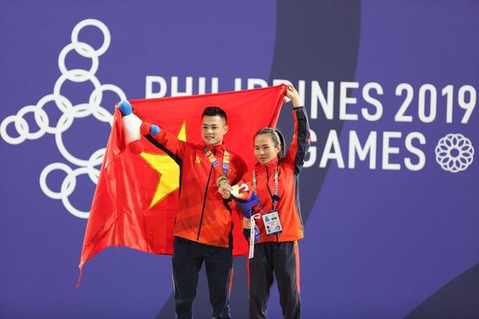 SEA Games 30: Lực sĩ Thạch Kim Tuấn vuột mất HCV đáng tiếc - Ảnh 21.
