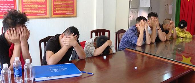 11 thanh niên từ Đồng Nai xuống Vũng Tàu bày tiệc ma túy trong biệt thự - Ảnh 1.