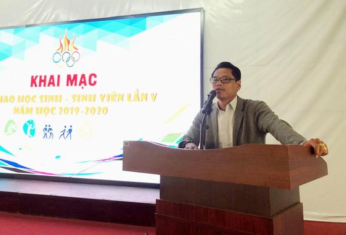 Sôi nổi Hội thao Sinh viên Trường Cao đẳng kinh tế TP HCM  - Ảnh 1.